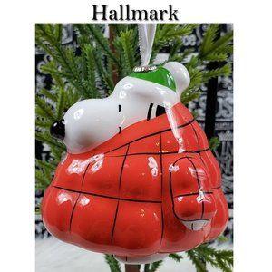 Hallmark Snoopy Ornament NWT